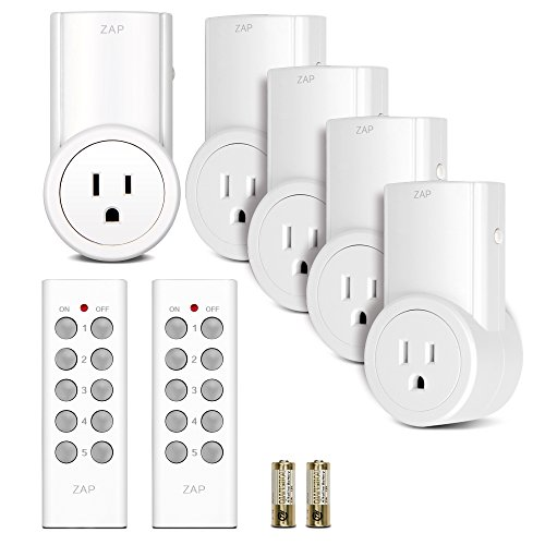 $29.98 Etekcity Wireless Remote Control Electrical Outlet Switch for Household