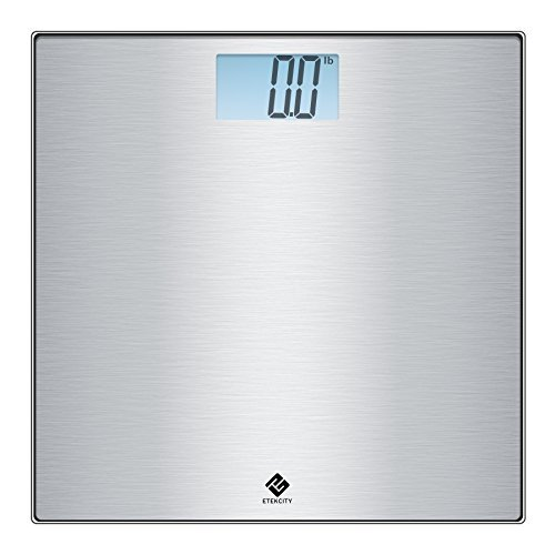 Etekcity Stainless Steel Digital Body Weight Bathroom Scale, Step-On