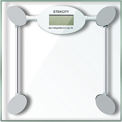 Etekcity Digital Body Weight Scale with Step-on Technology, 400