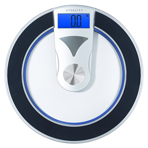 Etekcity Digital Body Weight Bathroom Scale: Modern Design, 400