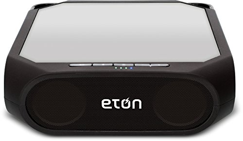 Eton Rugged Rukus The solar-powered, Bluetooth-ready, smartphone-charging speaker