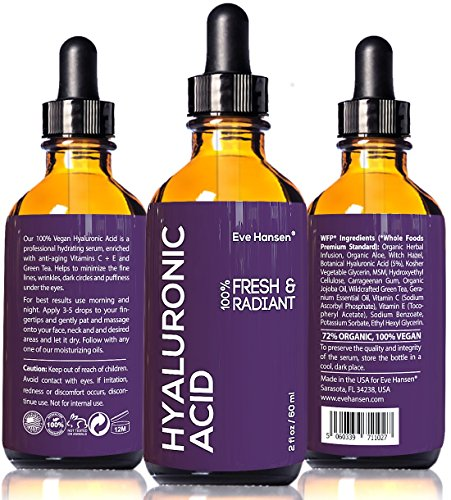2 oz Hyaluronic Acid – Facelift in a Bottle