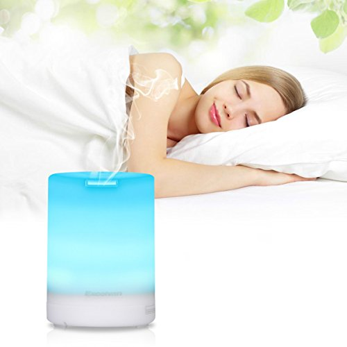 Excelvan LM03 300ml Humidifier Diffuser Esstential Oil Aromatherapy Air