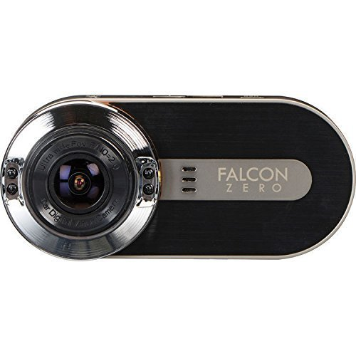 FalconZero F170HD+ GPS DashCam 1080P 170° Viewing Angle	32GB microSD