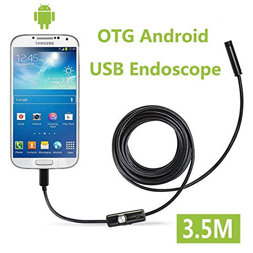 Fantronics 7mm Android Endoscope OTG Micro USB Endoscope Waterproof