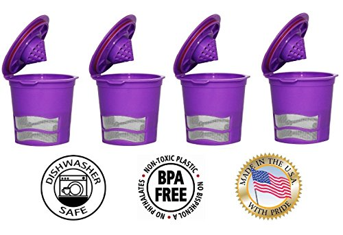 Fill N Save 4 Pack Reusable K Cups for