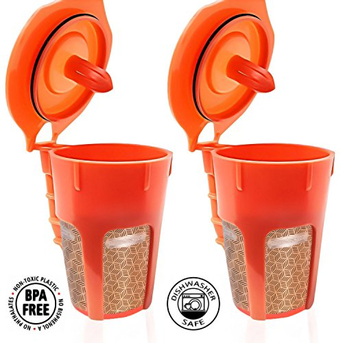 Fill N Save 2 Pack Reusable Carafe K-Cups. Reusable