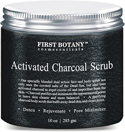 The BEST Charcoal Scrub 10 oz.- Best for Facial