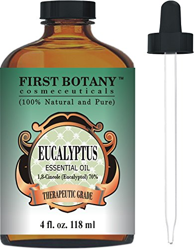 Eucalyptus Essential Oil - Big 4 Oz - 100%
