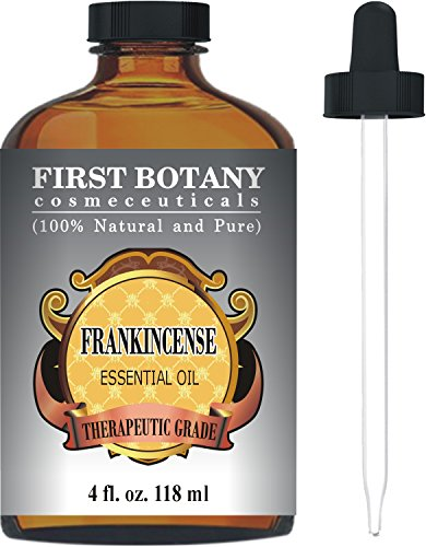 Frankincense Essential Oil With A Glass Dropper - Big