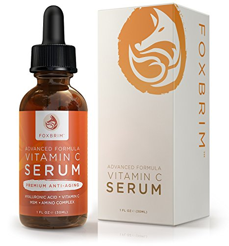 Foxbrim Vitamin C Serum for Face, 1 fl oz