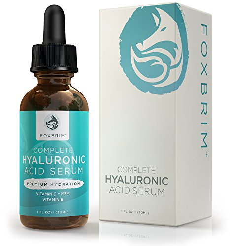Foxbrim Complete Hyaluronic Acid Serum - Hydrating ANTI-AGING Face