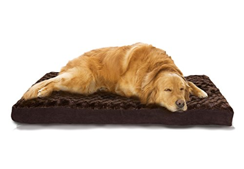 $43.99 Furhaven Pet NAP Pet Bed Ultra Plush Deluxe Egg-Crate