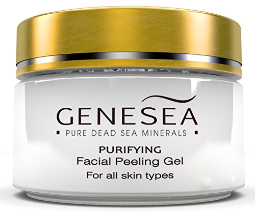 Dead Sea Facial Peeling Gel Infused with Chamomile and
