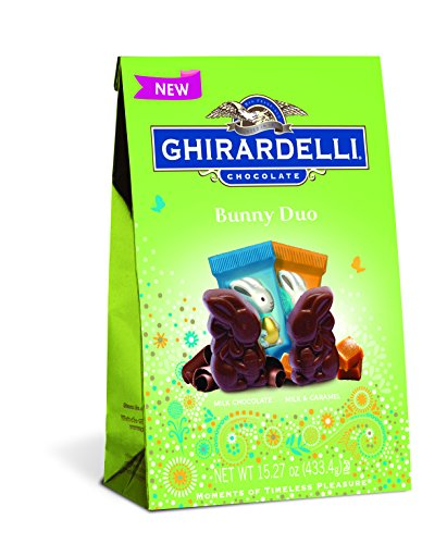 $12.96 Ghirardelli Mixed Bunny Duo Chocolate Squares Bag, 15.2 Ounce