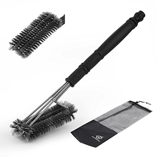 Grekitchen Grill Brush/BBQ Grill Brush, Solid As Weber Grill