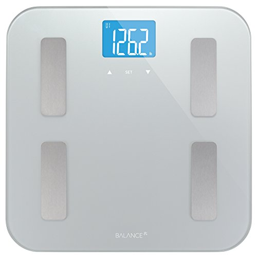 Balance High Accuracy Body Fat Scale with Easy-to-Read Backlit