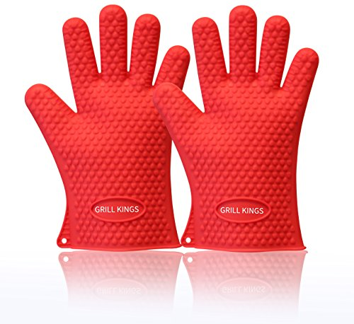 Barbecue Gloves - Heat Resistant for Cooking - High