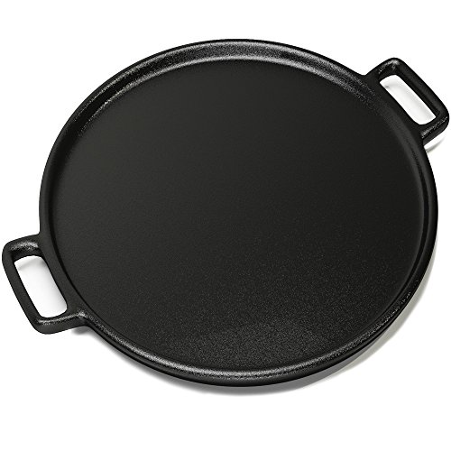 Cast Iron Pizza Pan 14 Inch - Evenly Bakes