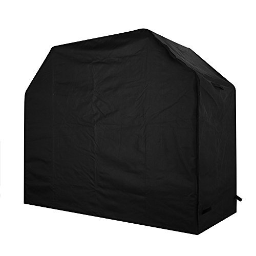 Homitt Gas Grill Cover, 58-inch 600D Heavy Duty Waterproof