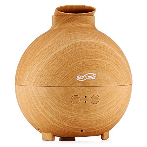 Housmile 600ml Cool Mist Humidifier Ultrasonic Aroma Essential Oil