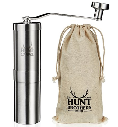 Hunt Brothers Coffee Grinder - Best Conical Burr for