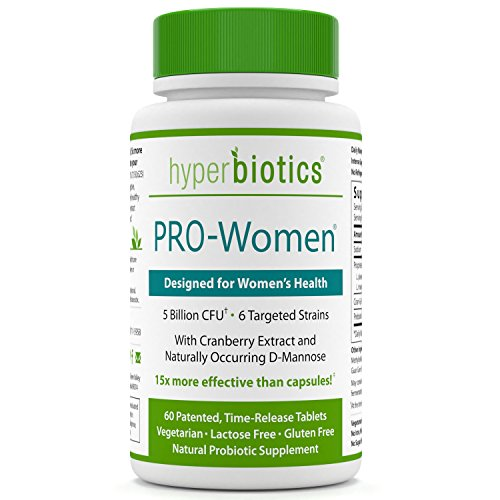 PRO-Women: Probiotics for Women with Cranberry Extract  D-Mannose