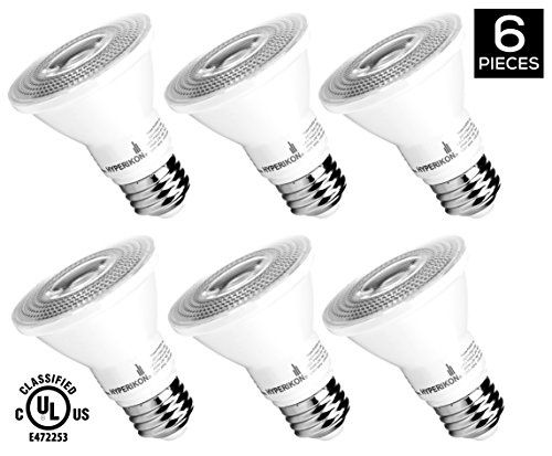 HyperSelect 8W LED PAR20 Light Bulb, Non Dimmable, 50W