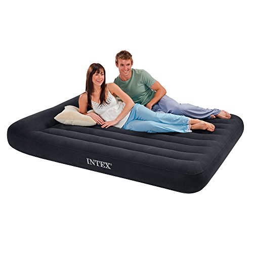 Intex Pillow Rest Classic Airbed with Built-in Pillow and