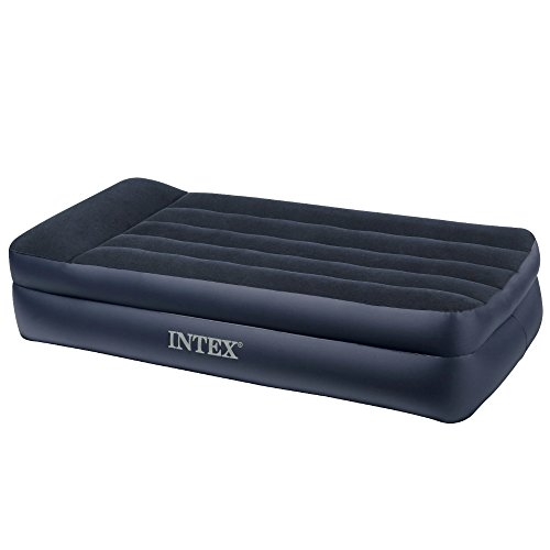 Intex Pillow Rest Raised Airbed with Built-in Pillow and