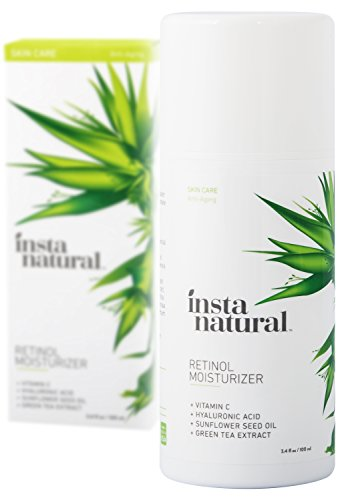 InstaNatural Retinol Moisturizer Anti Aging Cream – Anti Wrinkle