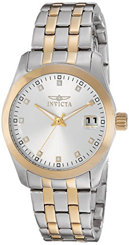 $69.99 Invicta Women's 21493 Wildflower Two-Tone Stainless Steel Watch with