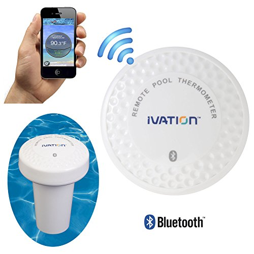 $49.95 Ivation Bluetooth Water Thermometer for Bathtub, Pool  Hot