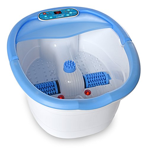 Ivation Multifunction Foot Spa – Heated Bath with Vibration