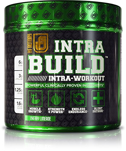 INTRABUILD Premium BCAA Intra Workout Supplement with Clinically Dosed