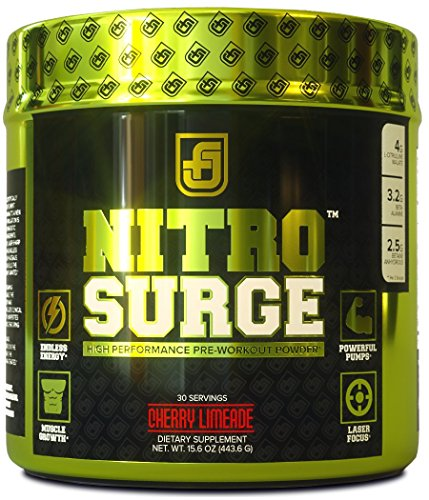 Jacked Factory NITROSURGE Nitric Oxide Booster and Preworkout Energy
