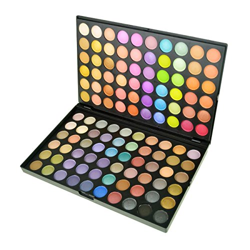 Jmkcoz 120 Colors Eyeshadow Eye Shadow Palette Makeup Kit