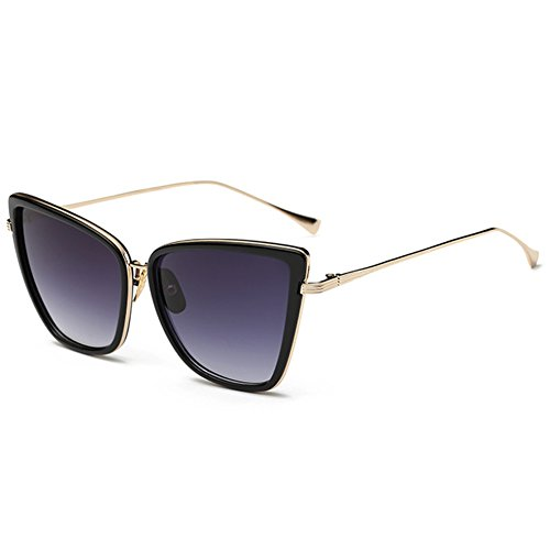 Joopin Fashion Cat Eye Sunglasses Women Retro Transparent Frame