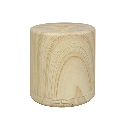 KEDSUM 400ml Wood Grain Essential Oil Diffuser with 4