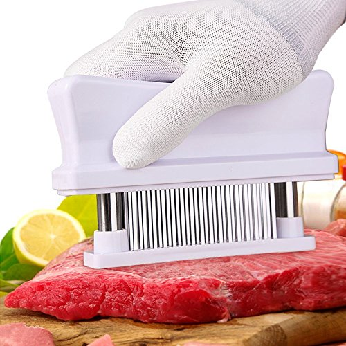 KLEMOO Meat Tenderizer- with 48 Ultra Sharp Needle Stainless