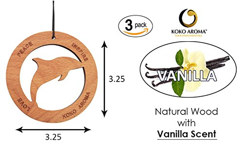 Vanilla Bundle Air Sanitizer Car Freshener and Odor Remover