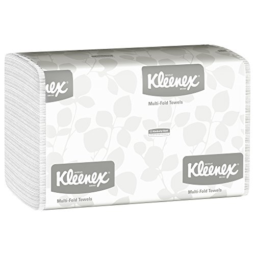 Kleenex Multifold Paper Towels (01890), White, Case of 16
