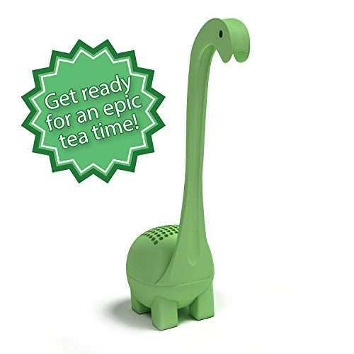 Baby Dino Loose Leaf Tea infuser with Long Handle