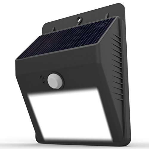 LAMPAT Waterproof Wireless Security Bright Motion Sensor Solar Light