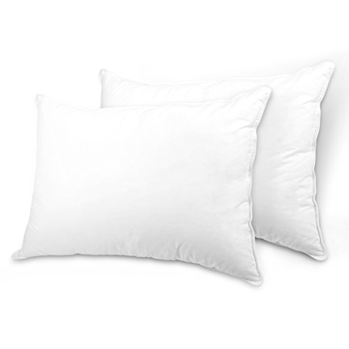 LANGRIA Down Alternative Bed Pillows with Hypoallergenic and Breathable