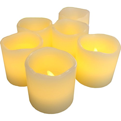 LED Lytes Flameless Candles, Battery Operated Votive Set of