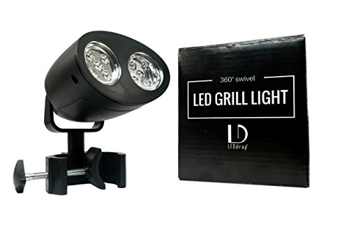 LEDdrop Barbecue Light with 360° Swivel Action - Grill