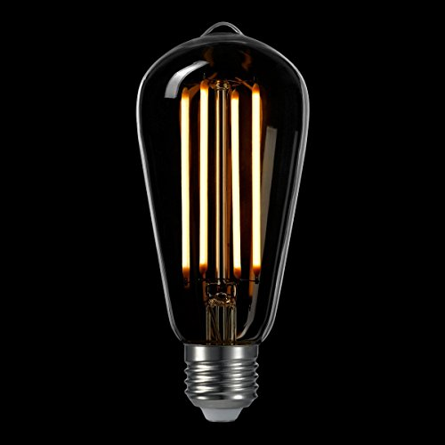 LIGHTSTORY LED Edison Bulb ST18, E26 Base 2200K Non-dimmable