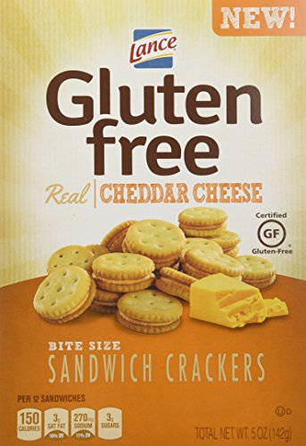 $17.20 Lance Gluten Free Sandwich Crackers, Cheddar Cheese, 4 Count