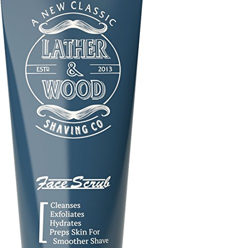 Best Face Wash for Men - Lather  Wood's